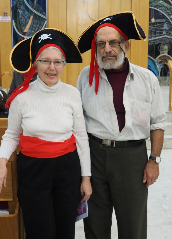 b01 Purim 2017 Edith & Baruch