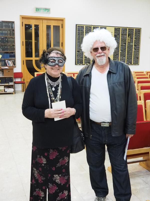b01 Purim 2017 Shirley & Larry